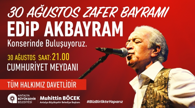 Antalya'da Zafer Bayramı'nın coşkusu yaşanacak