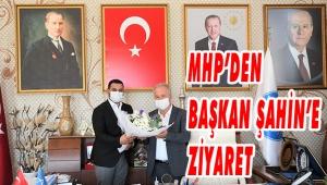 MHP'DEN BAŞKAN ŞAHİN'E İADE-İ ZİYARET