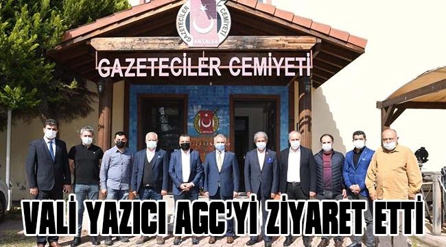 VALİ YAZICI AGC'Yİ ZİYARET ETTİ