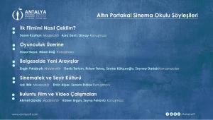 """ALTIN PORTAKAL SİNEMA OKULU """"GELECEĞİN SİNEMACILARINI"""" HAZIRLIYOR!"""