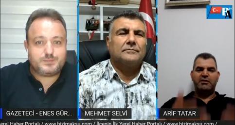 Canlı Yayın Konuklarımız Mehmet Selvi ve Arif Tatar
